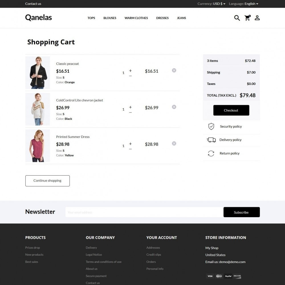theme - Moda & Calçados - Qanelas Fashion Store - 8