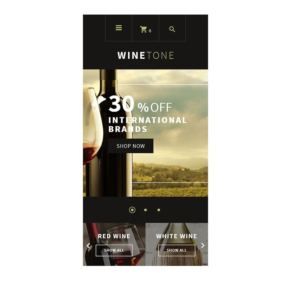 theme - Dom & Ogród - Wine Tone - 8
