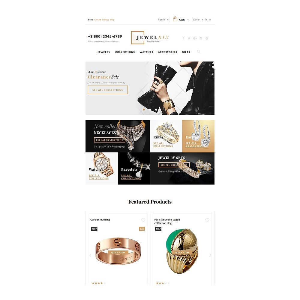 theme - Mode & Chaussures - Jewelrix - Jewelry Store - 7