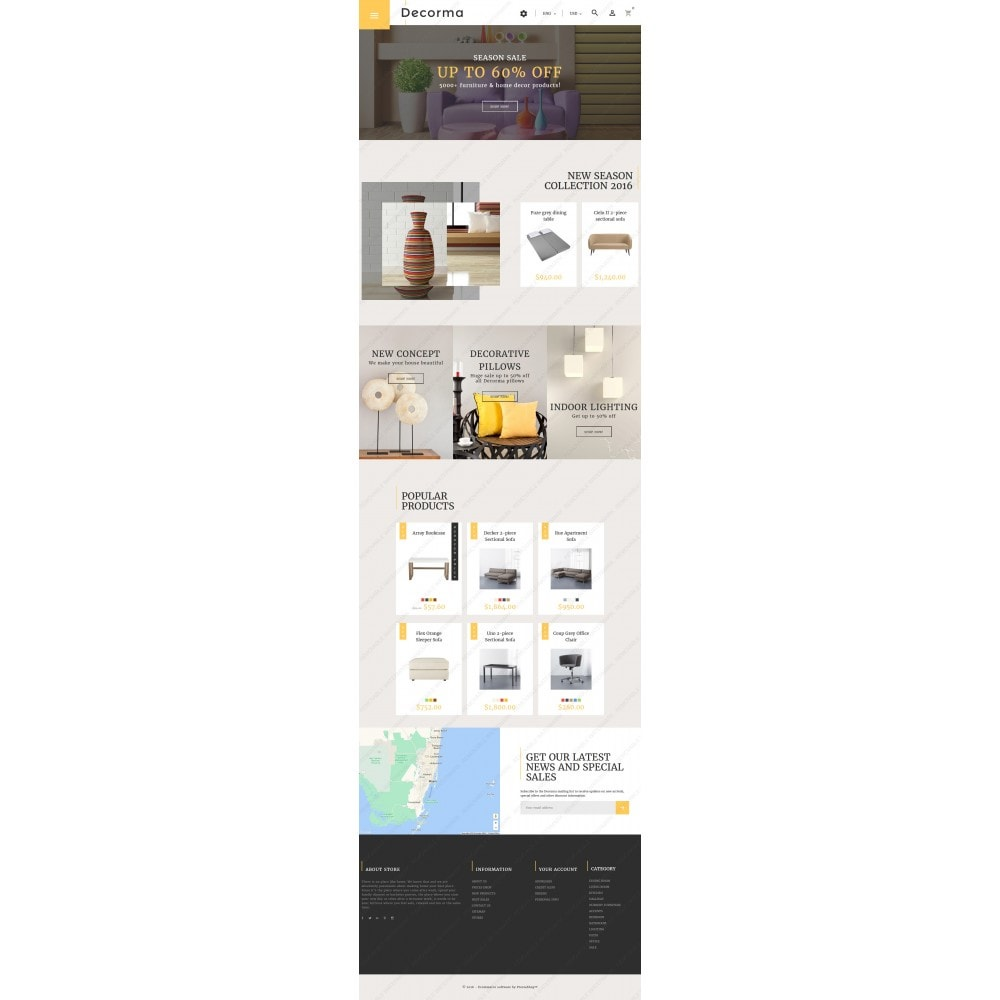 theme - Kultura & Sztuka - Decorma - Furniture Responsive - 3