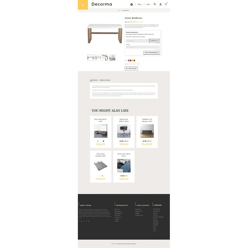 theme - Kultura & Sztuka - Decorma - Furniture Responsive - 7