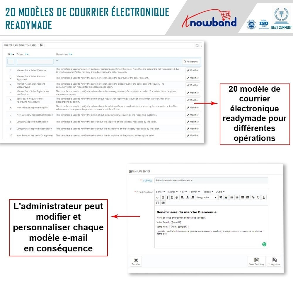 module - Création de Marketplace - Knowband - Multi Vendor Marketplace - 22