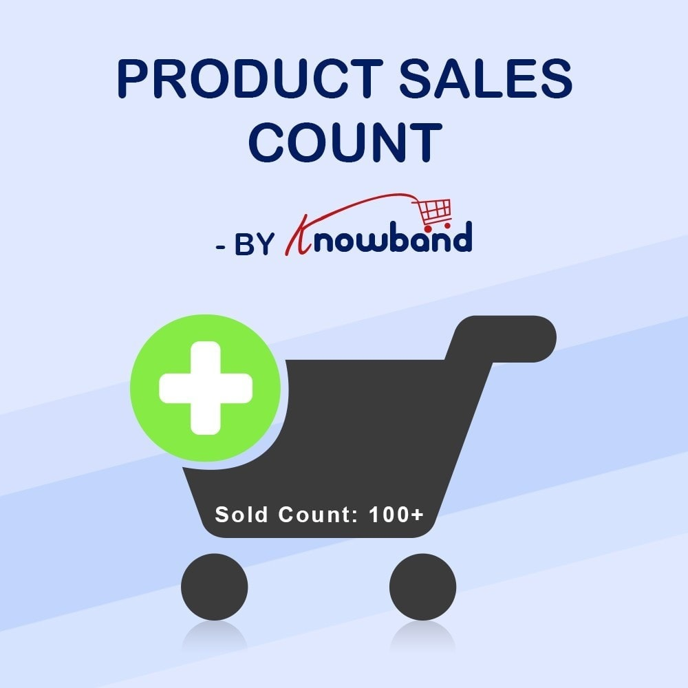 module - Zusatzinformationen & Produkt-Tabs - Knowband - Product Sales Count - 1