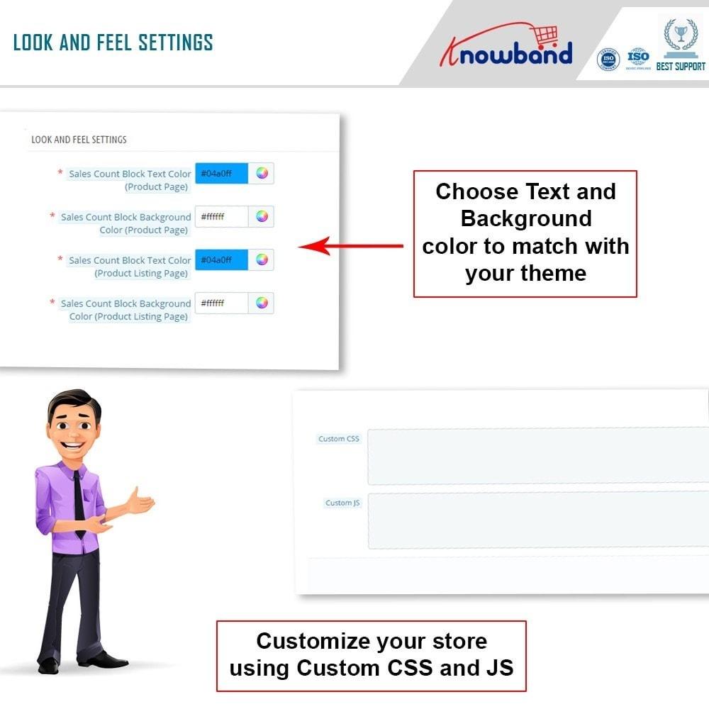 module - Zusatzinformationen & Produkt-Tabs - Knowband - Product Sales Count - 6