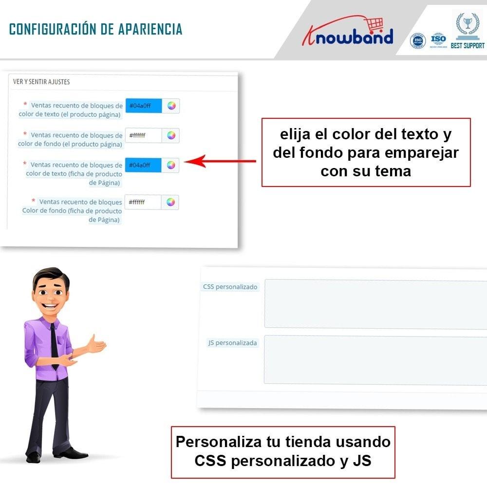 module - Informaciones adicionales y Pestañas - Knowband - Conteo de ventas de productos - 6