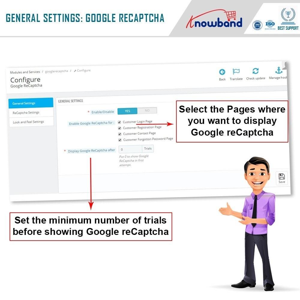 module - Veiligheid & Toegang - Google reCaptcha - 6