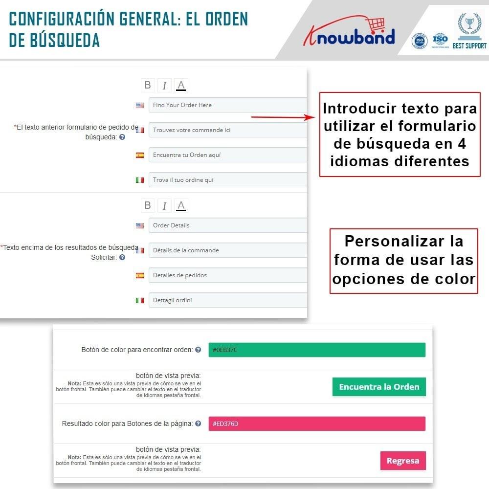 module - Gestión de Pedidos - Knowband - Seguimiento de la Orden - 4