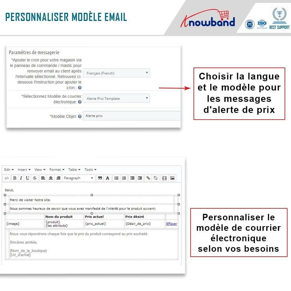 module - Gestion des Prix - Knowband - Alerte de Prix - Notification des clients - 5