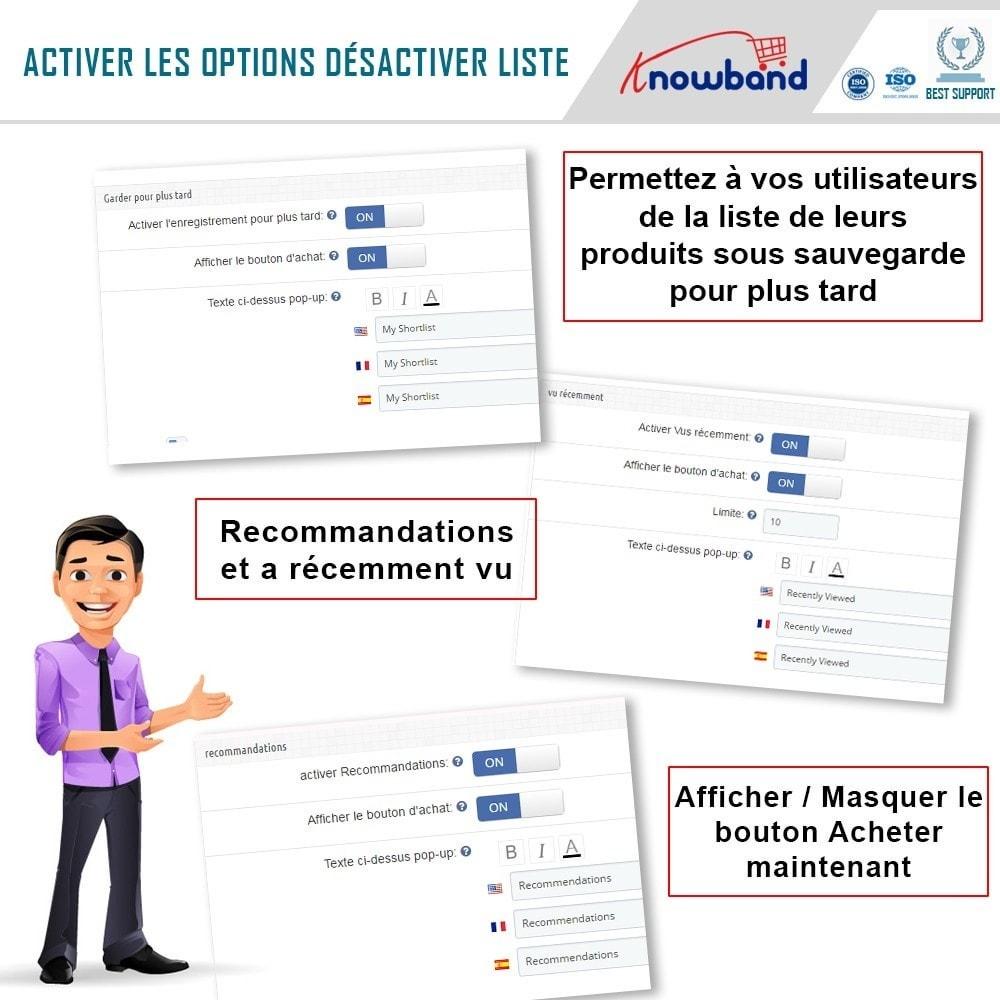 module - Liste de souhaits & Carte cadeau - Knowband - Liste de souhaits avancée - 5
