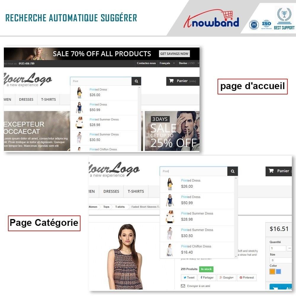 module - Recherche & Filtres - Knowband - Suggestion Automatique de Recherche - 2