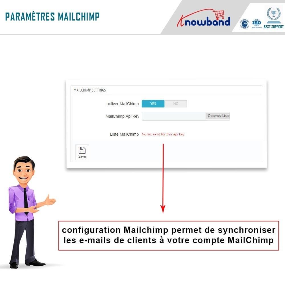 module - Remarketing & Paniers Abandonnés - Knowband - Pop-Up de Fermeture - 9
