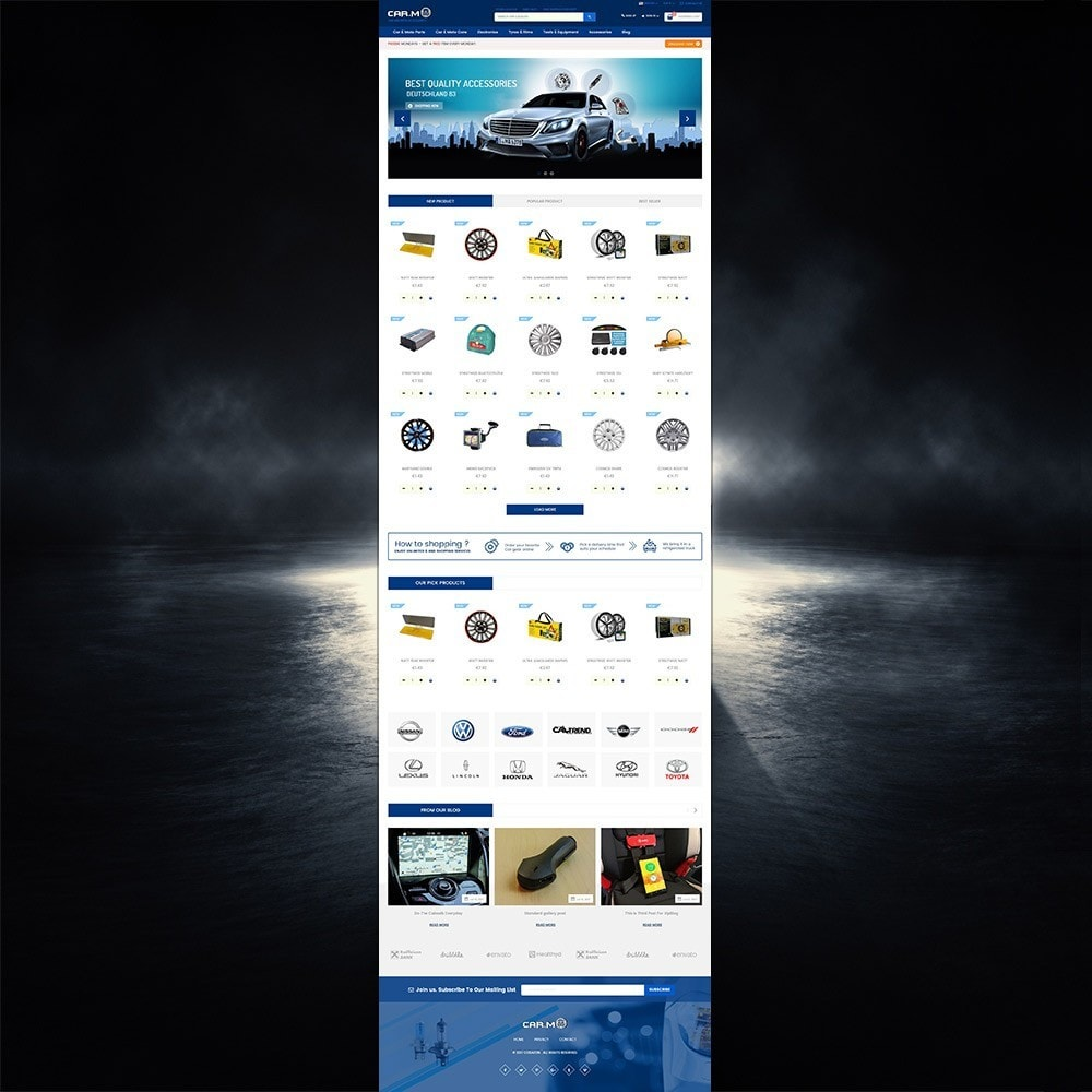 theme - Auto & Moto - Automotive & Cars & Moto - smart responsive store - 2
