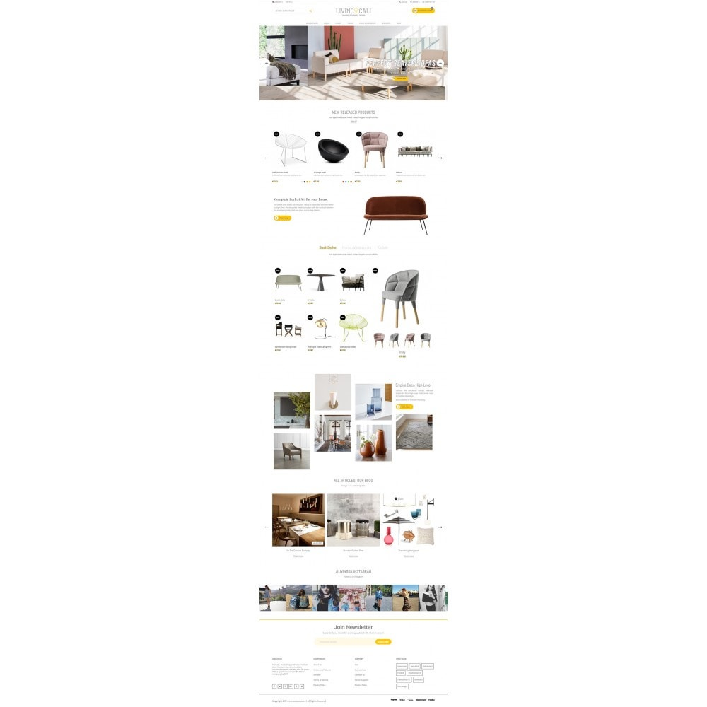theme - Home & Garden - Furniture & Interior & Garden- smart responsive store - 2