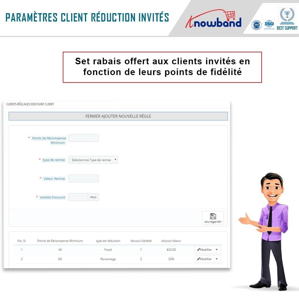module - Fidélisation & Parrainage - Knowband - Points de Fidélité - 6