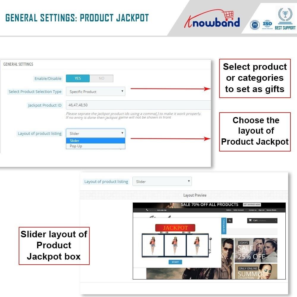 module - Акции и Подарки - Knowband - Product Jackpot - 4