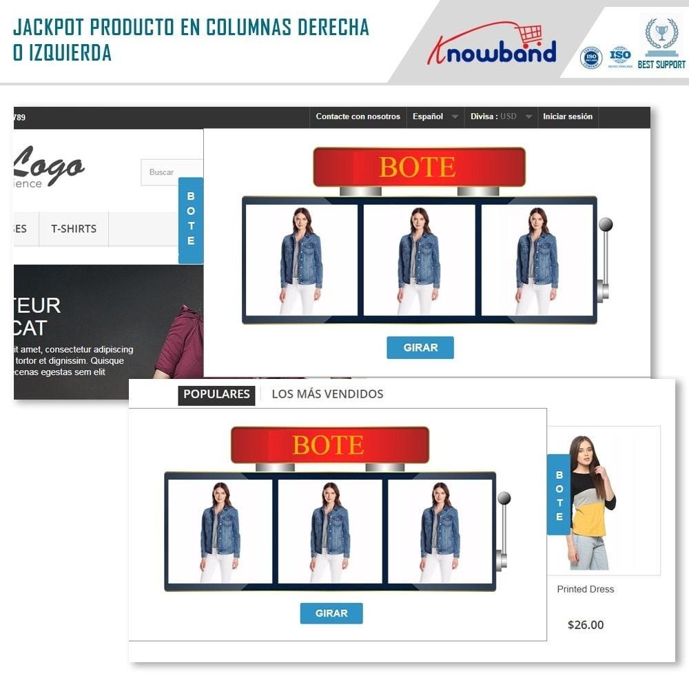 module - Promociones y Regalos - Knowband - Jackpot de Producto - 2