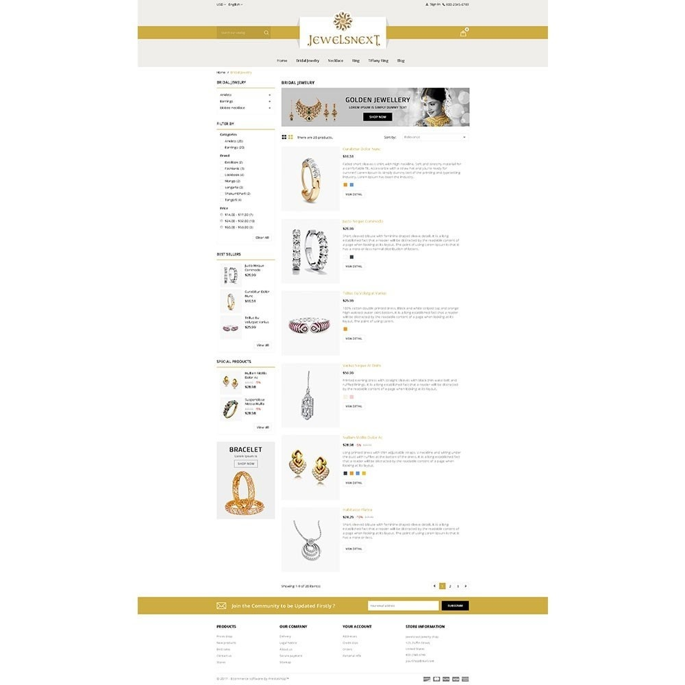 theme - Bellezza & Gioielli - Jewelsnext Jewelry Shop - 4