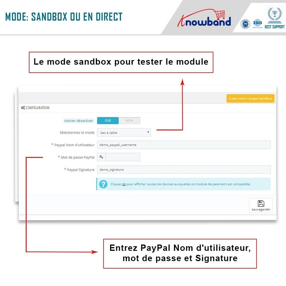 module - Paiement par Carte ou Wallet - Knowband - Paiement Direct par PayPal - 2