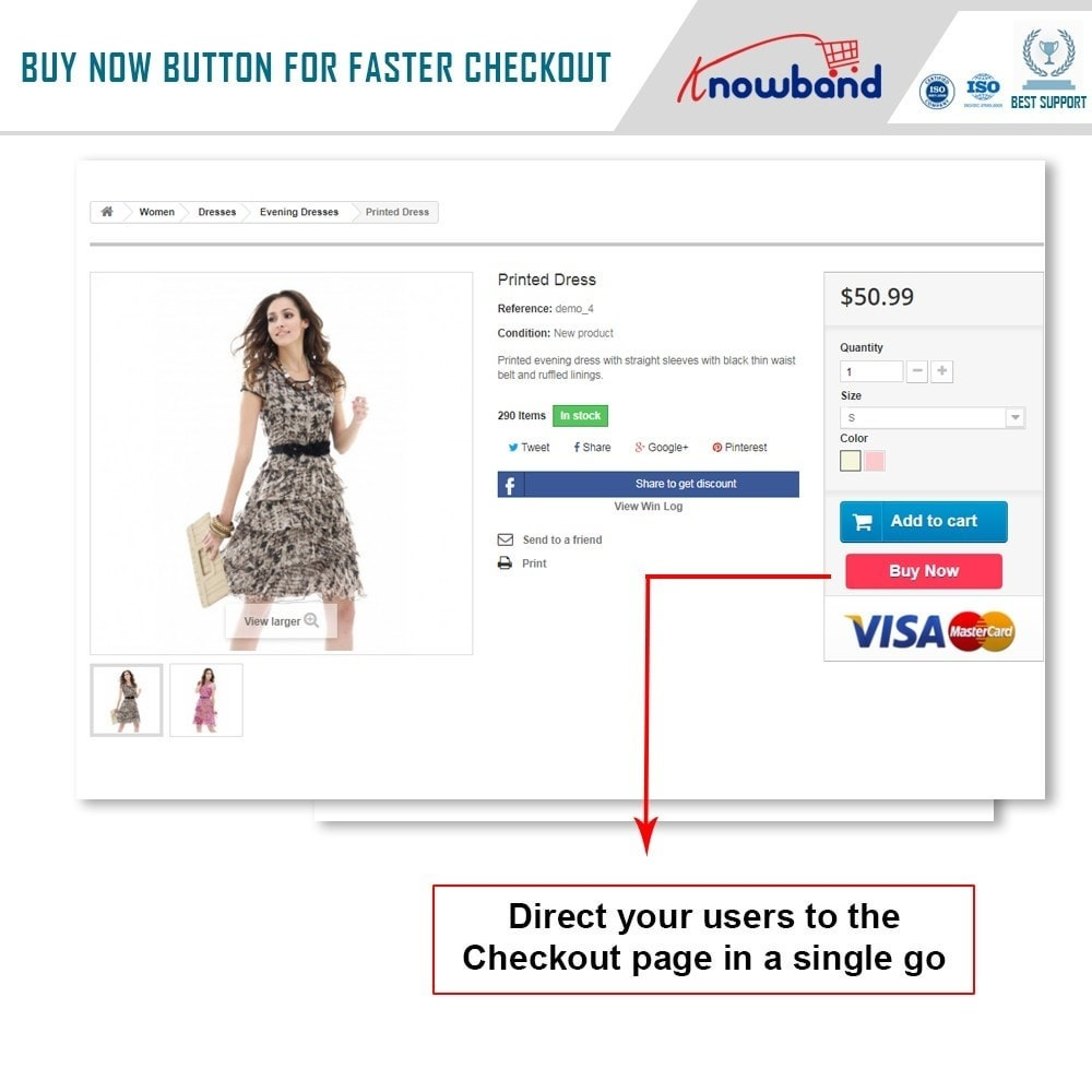 module - Express Checkout Process - Knowband - One Click Checkout - 2