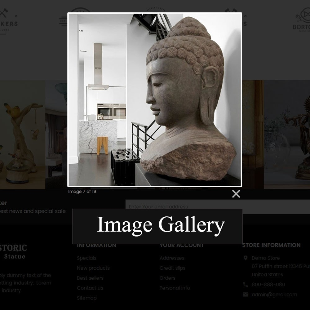 theme - Art & Culture - Historic Art Statue Store - 8