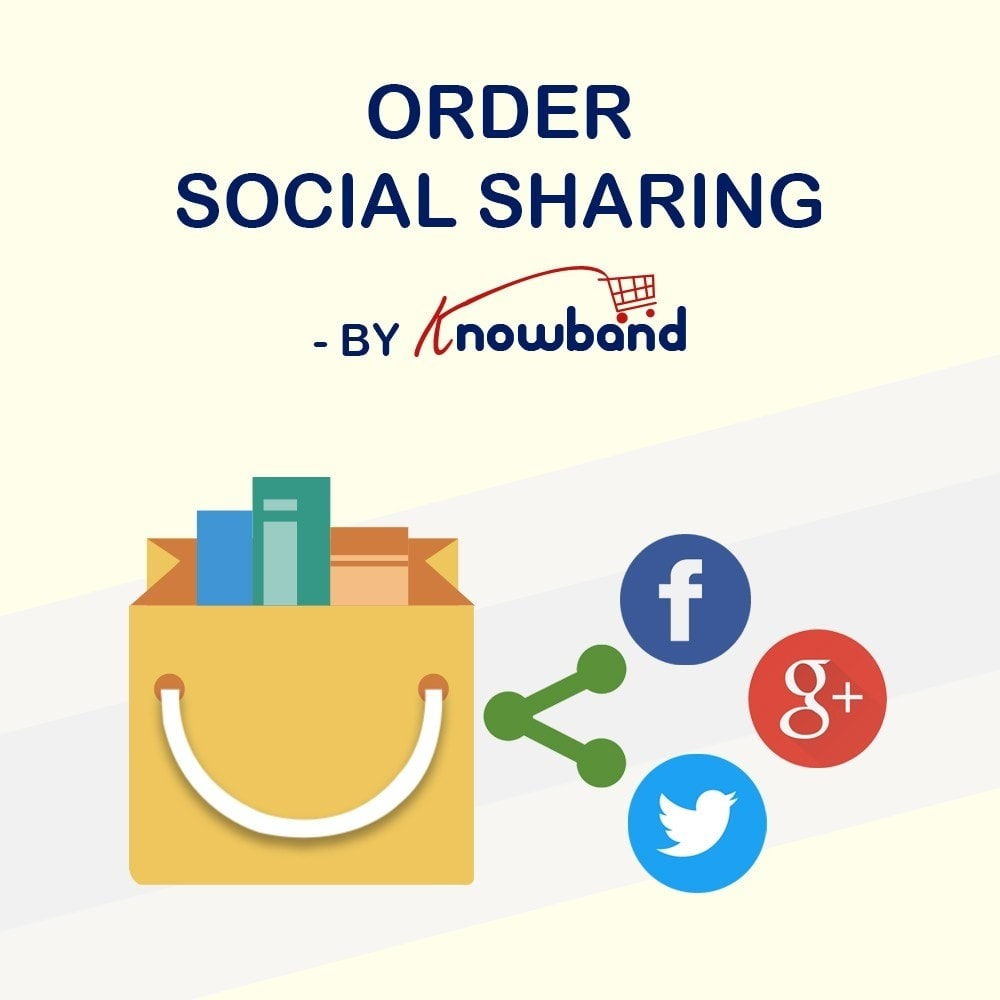 module - Share Buttons & Comments - Knowband - Order Social Sharing - 1