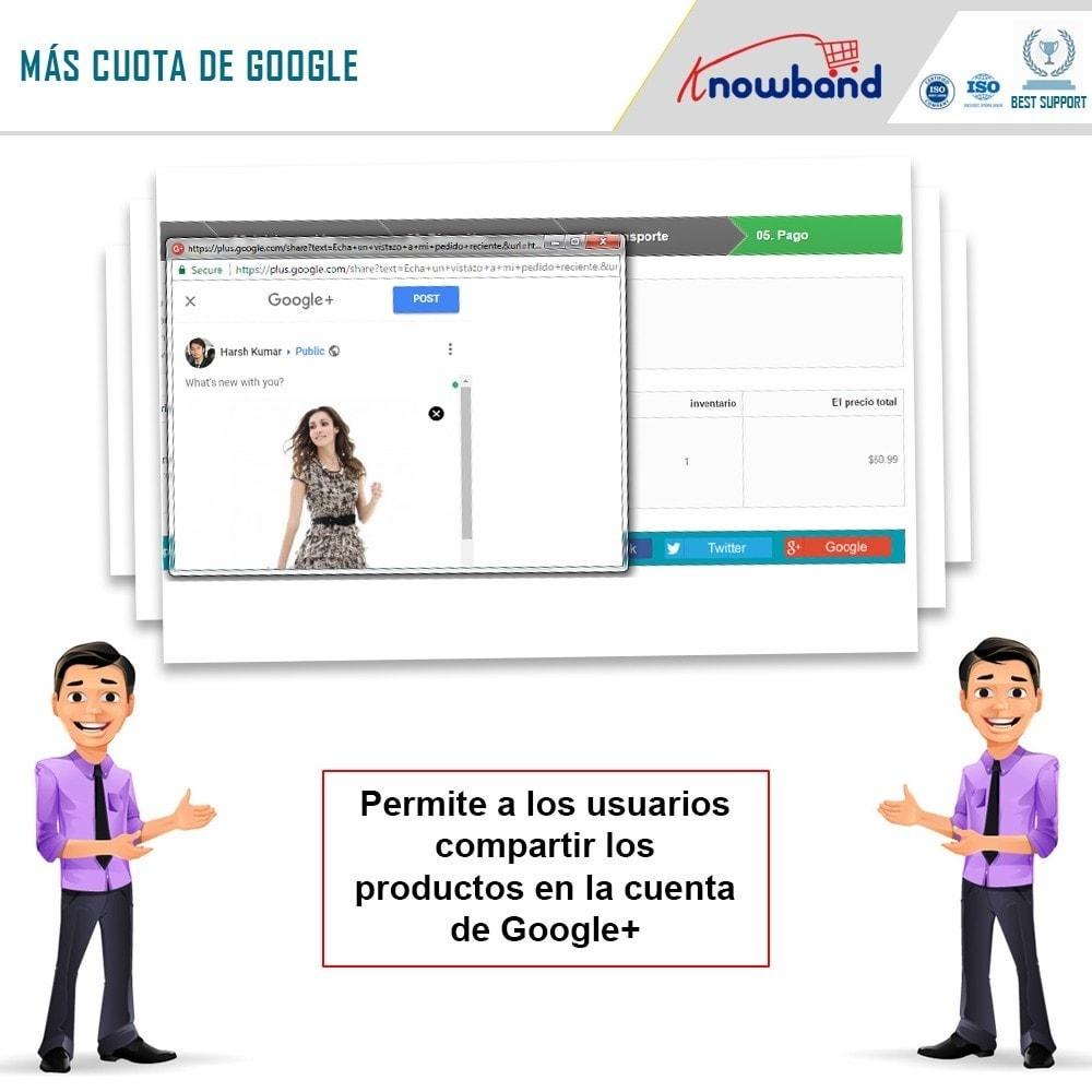 module - Compartir contenidos y Comentarios - Knowband - Compartir Pedidos en Redes Sociales - 6