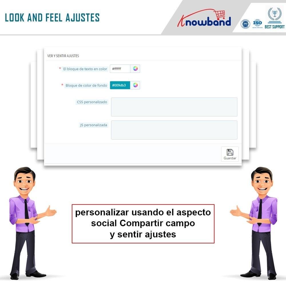 module - Compartir contenidos y Comentarios - Knowband - Compartir Pedidos en Redes Sociales - 8
