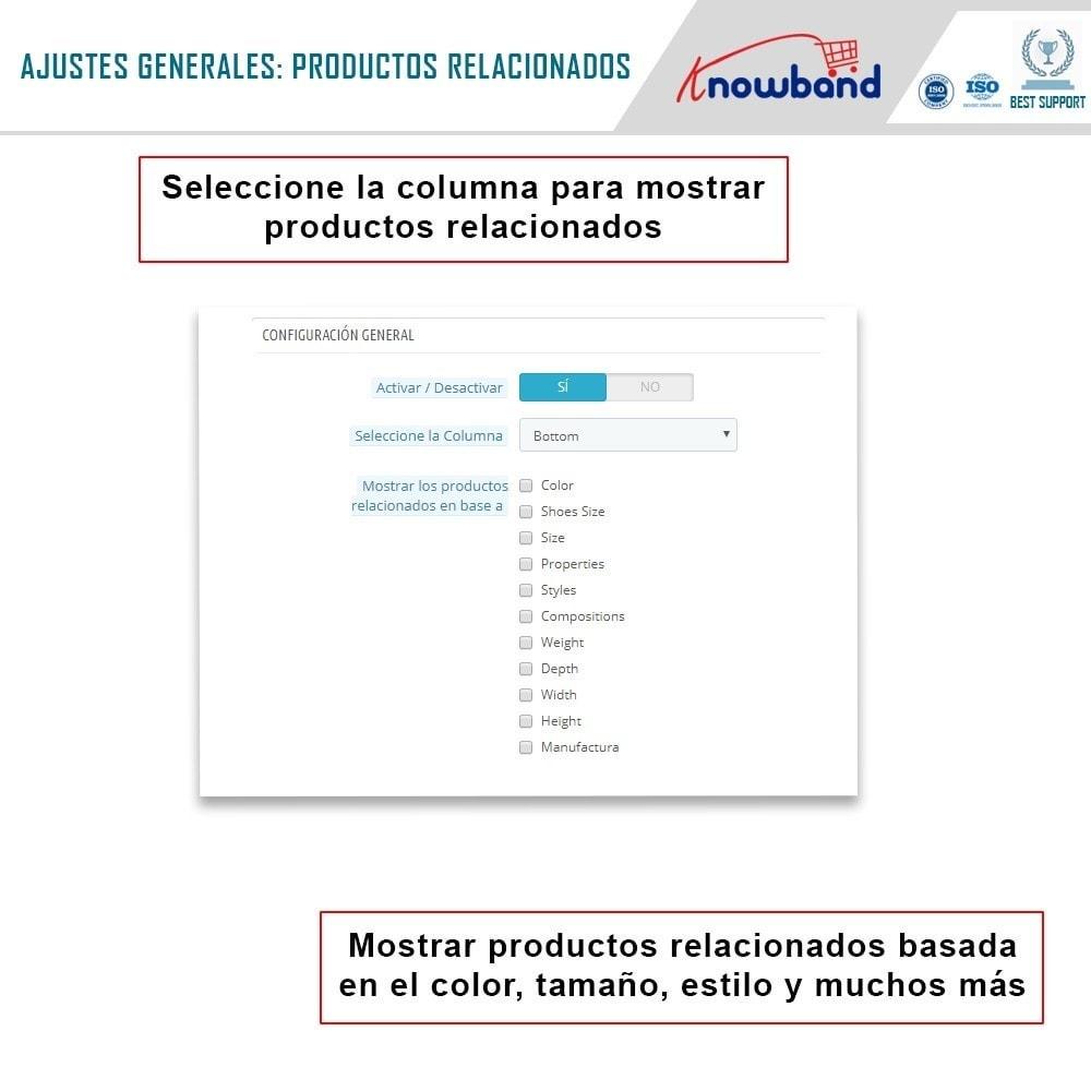 module - Ventas cruzadas y Packs de productos - Knowband - Productos Relacionados Automáticos - 3