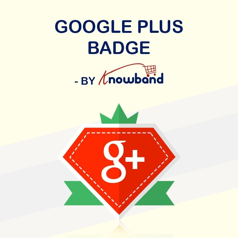 module - Social Widgets - Knowband - Google Plus Badge - 1