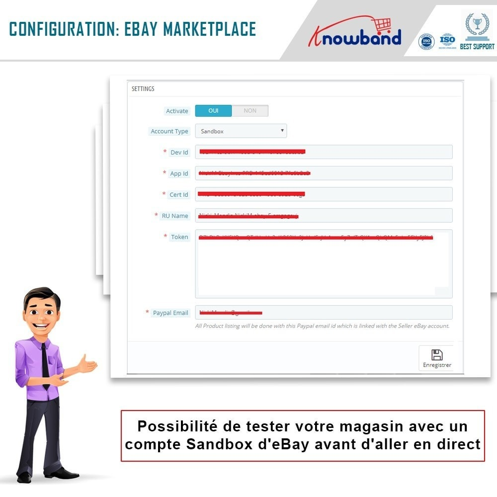 module - Marketplaces - Knowband- Intégration de la Marketplace Ebay - 2