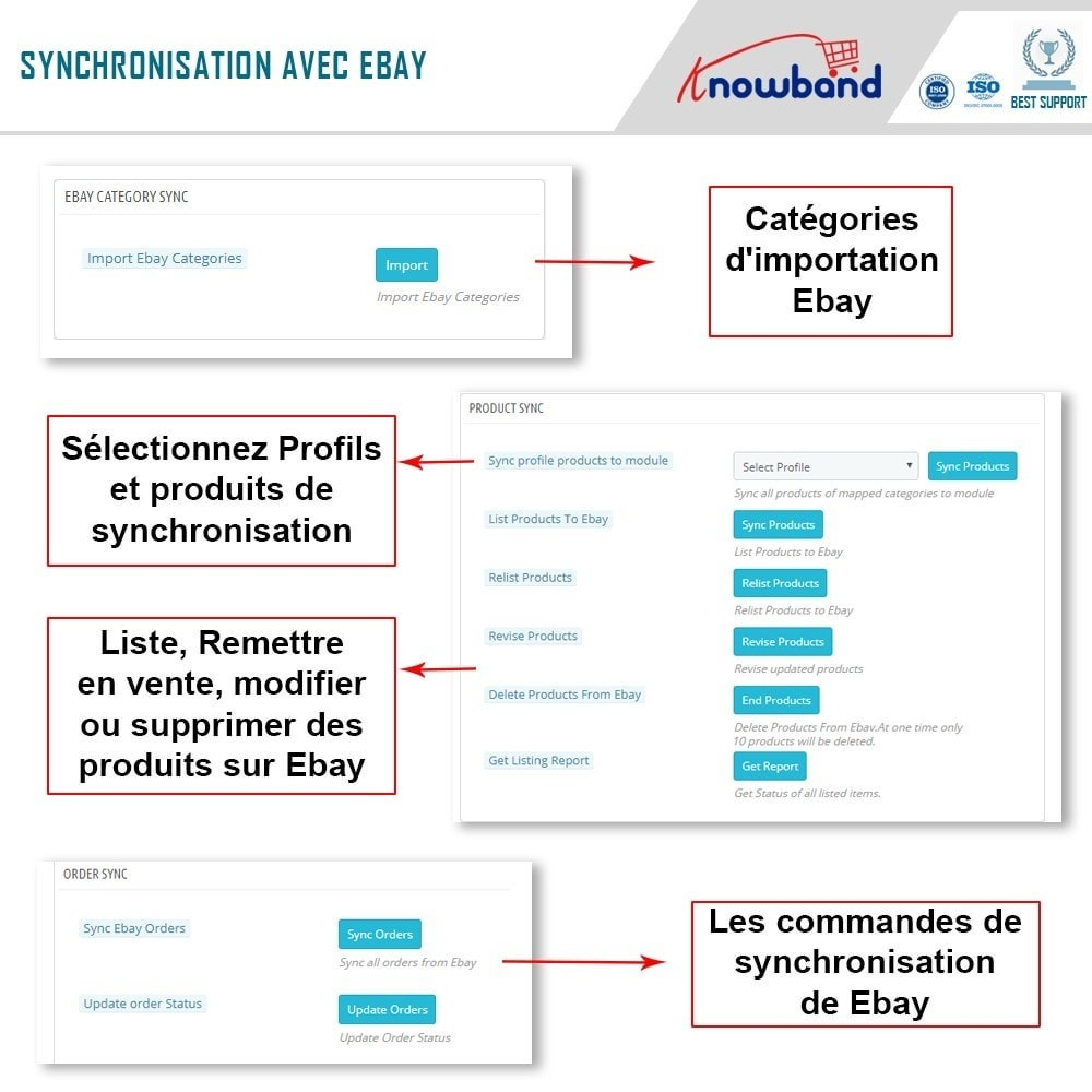 module - Marketplaces - Knowband- Intégration de la Marketplace Ebay - 7