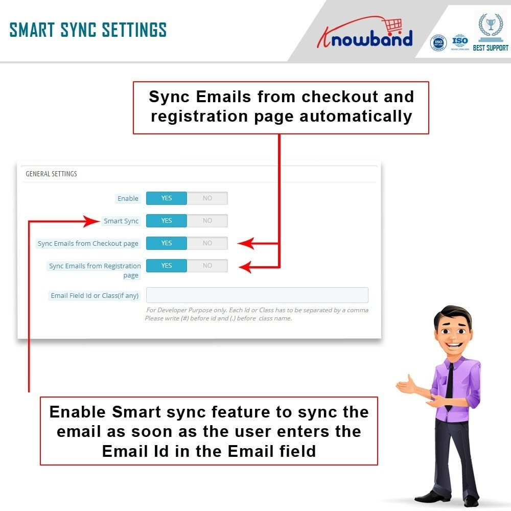 module - Newsletter & SMS - Knowband - Integrator per Mailigen e MailChimp - 5