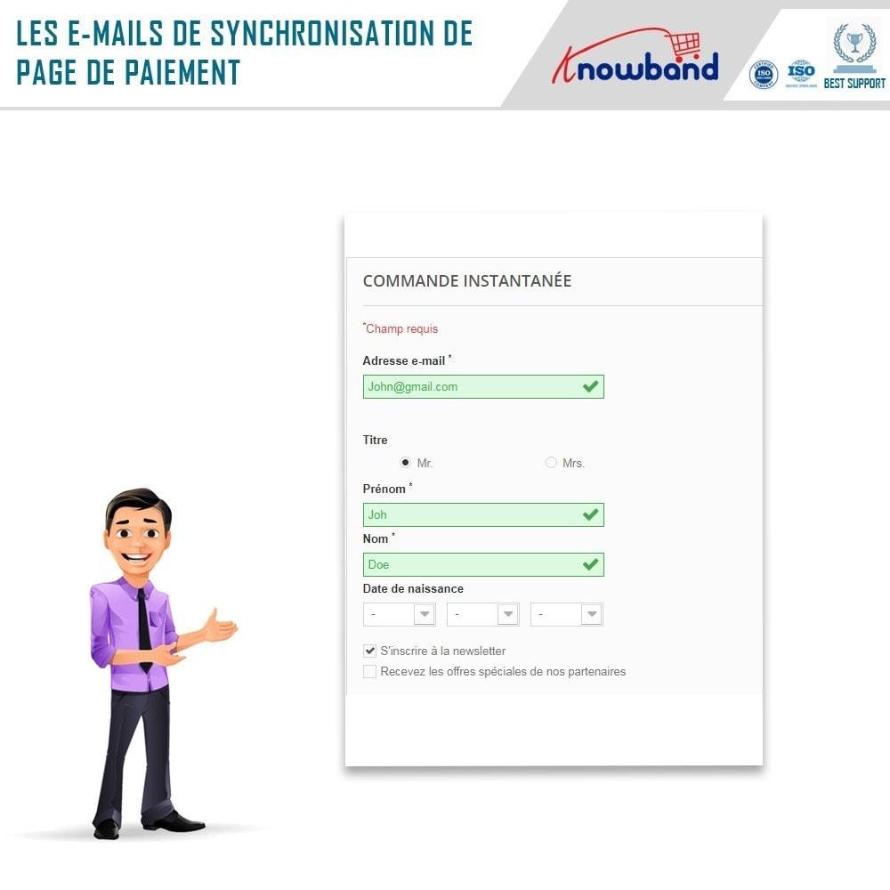 module - Newsletter & SMS - Knowband - Intégrateur Mailigen et MailChimp - 4