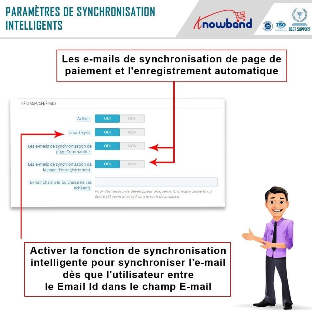 module - Newsletter & SMS - Knowband - Intégrateur Mailigen et MailChimp - 5