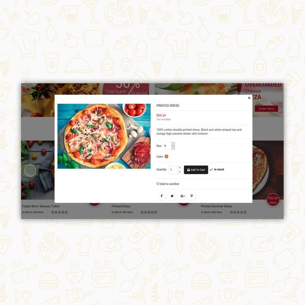 theme - Alimentation & Restauration - Pizza House Store - 6