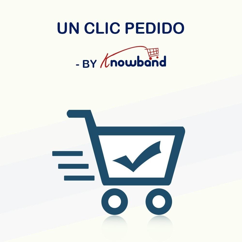 module - Proceso rápido de compra - Knowband - Pago en Un Clic - 1