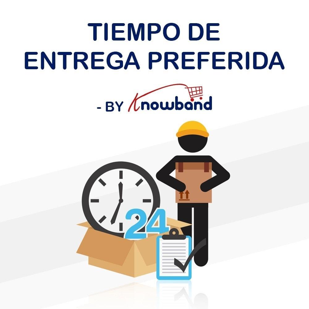 module - Fecha de entrega - Knowband - Tiempo de Entrega Preferido - 1
