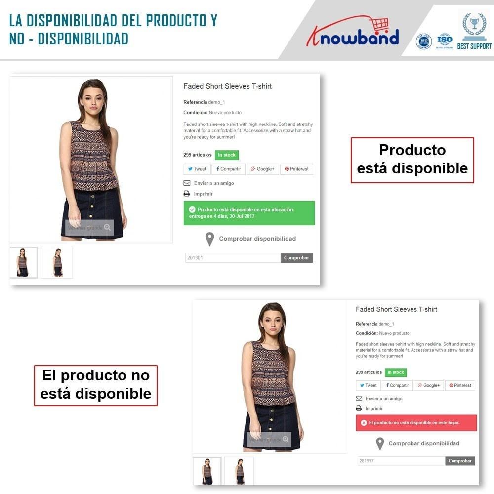 module - Internacionalización y Localización - Knowband- Disponibilidad de productos por código postal - 3