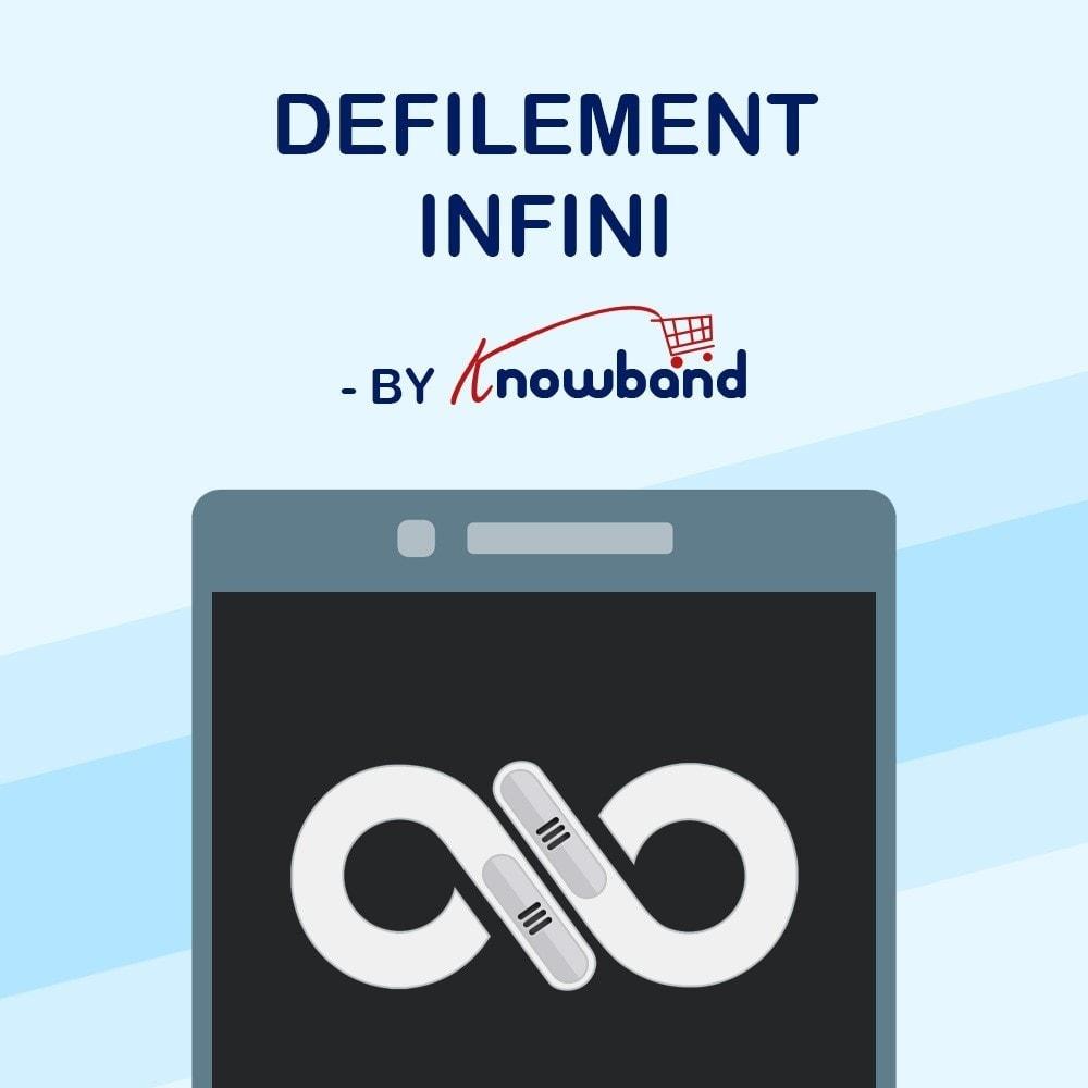 module - Outils de navigation - Knowband - Défilement Infini - 1