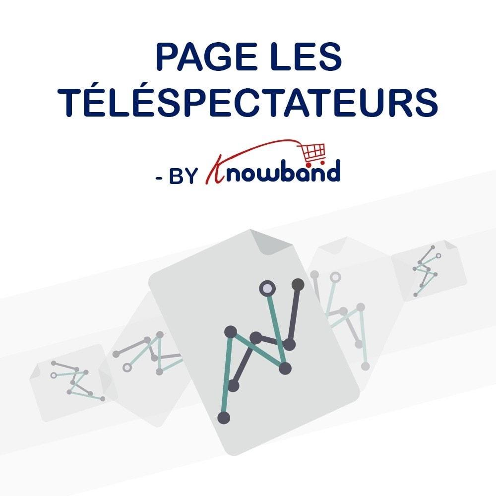 module - Information supplémentaire & Onglet produit - Knowband - Compteur de Vues de Page - 1