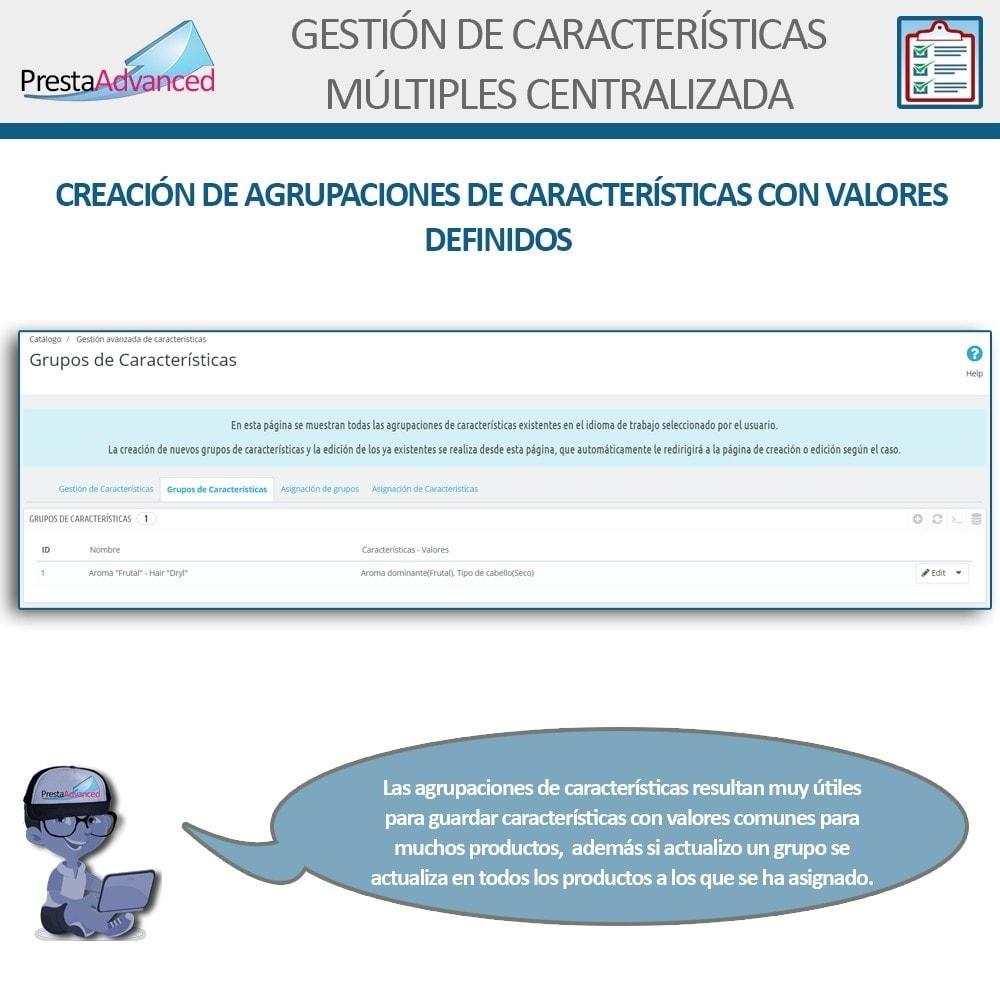 module - Edición Rápida y Masiva - Características: Gestión Avanzada Centralizada - 5