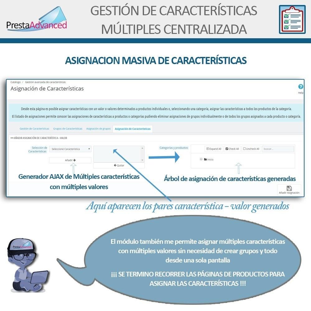 module - Edición Rápida y Masiva - Características: Gestión Avanzada Centralizada - 9