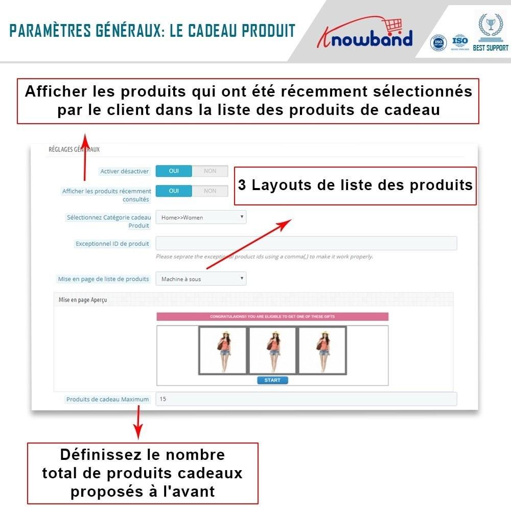 module - Promotions & Cadeaux - Knowband - Produits Cadeaux - 4