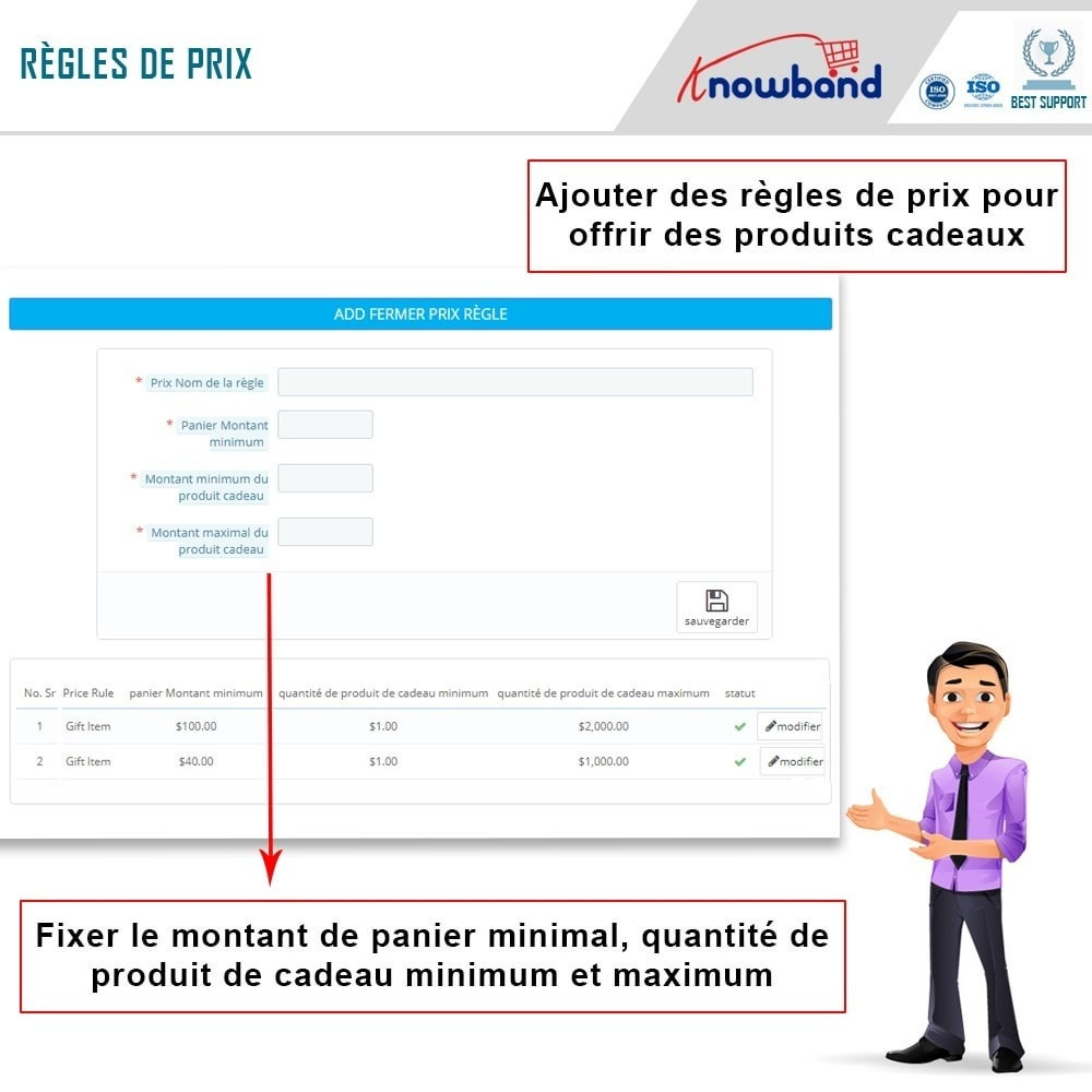 module - Promotions & Cadeaux - Knowband - Produits Cadeaux - 5