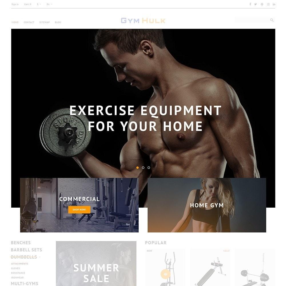 theme - Sport, Activiteiten & Reizen - GymHulk - Gym Equipment - 4