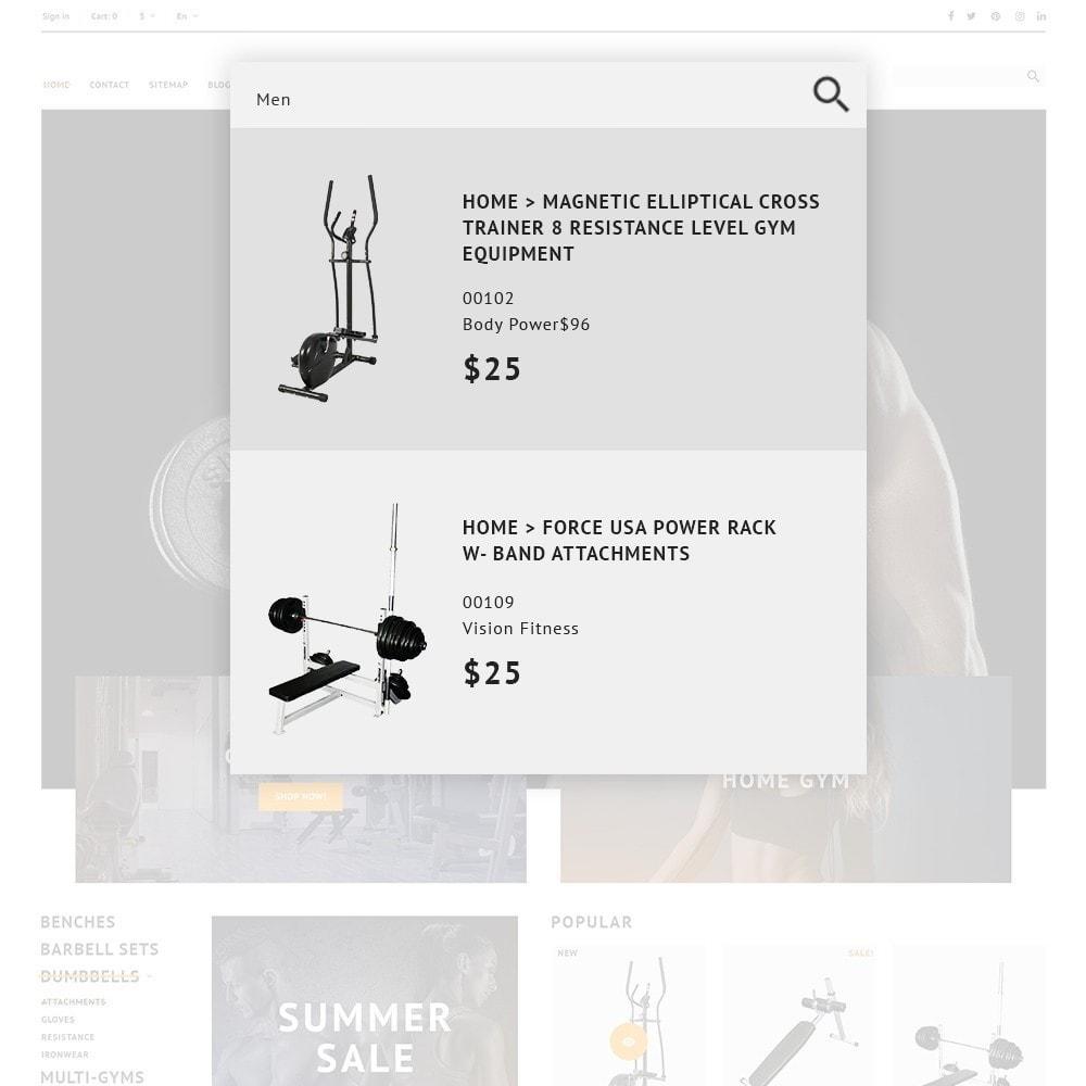 theme - Спорт и Путешествия - GymHulk - Gym Equipment - 3