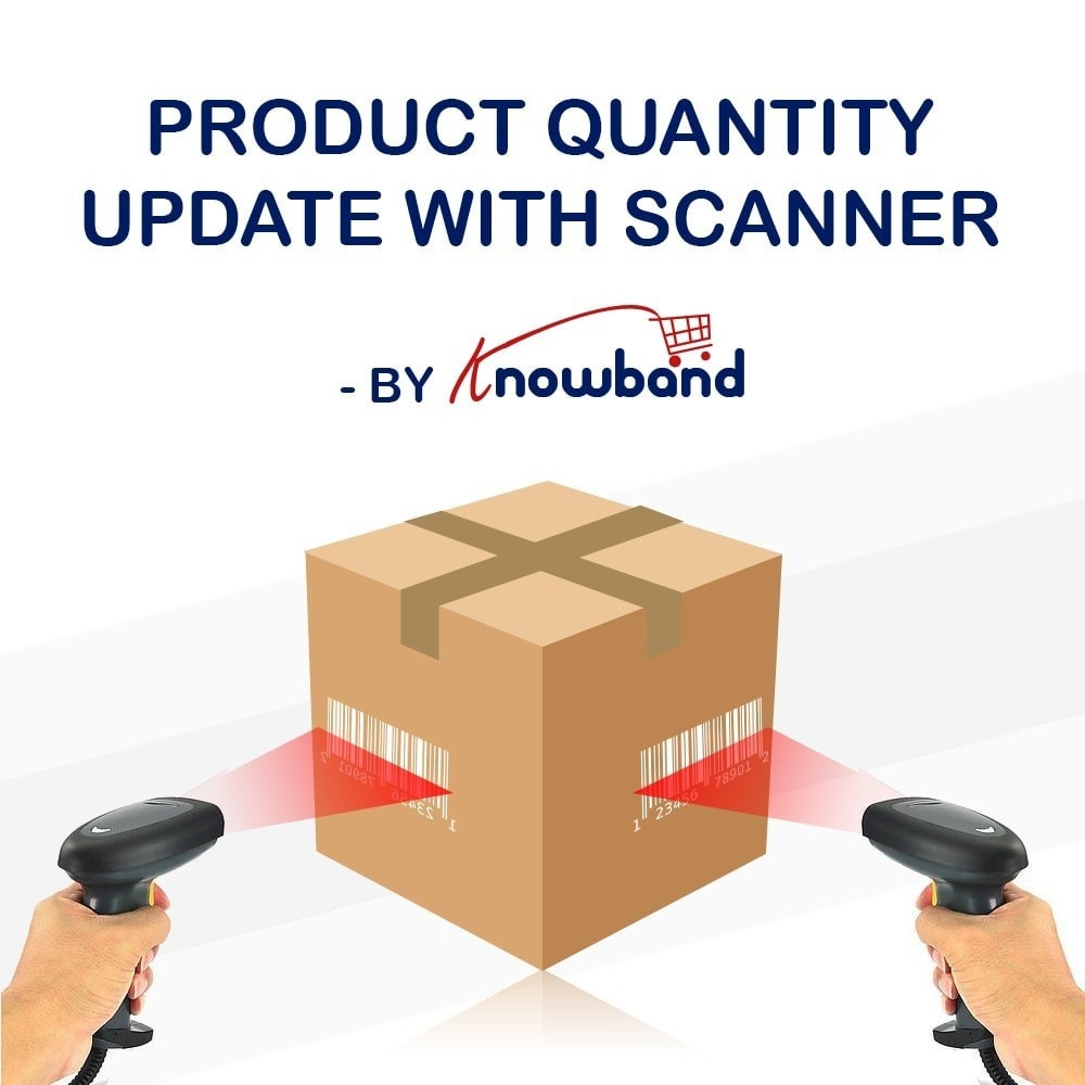 module - Quick Eingabe & Massendatenverwaltung - Knowband  - Product Update With Scanner - 1