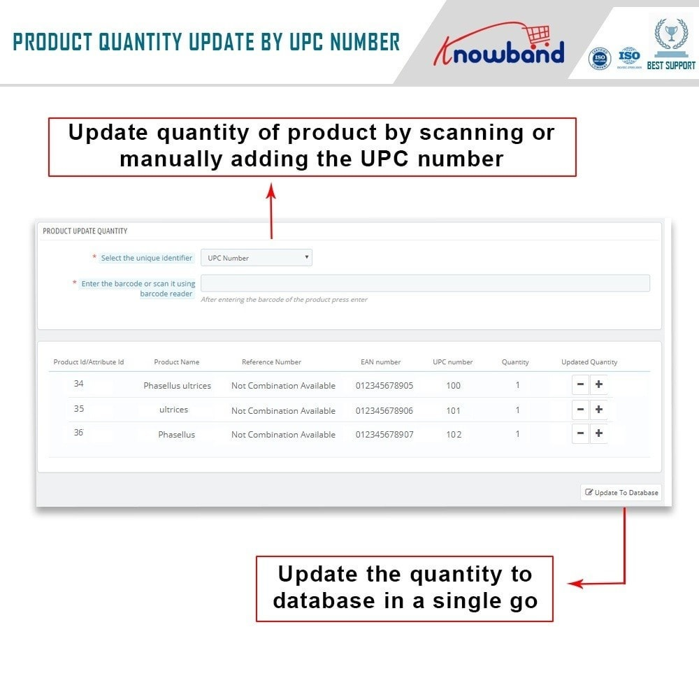 module - Fast & Mass Update - Knowband  - Product Update With Scanner - 2