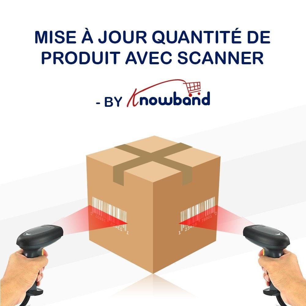 module - Edition rapide & Edition de masse - Knowband - Mettre à jour Produits Avec un Scanner - 1