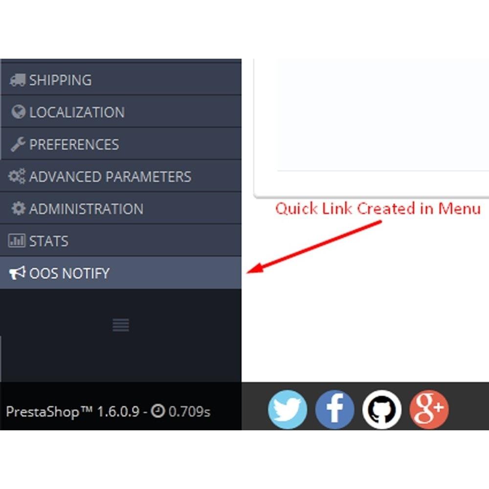 module - E-Mails & Benachrichtigungen - Nicht auf Lager Benachrichtigung - 5
